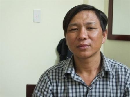 Ngư dân Nguyễn Xuân Thành – người đầu tiên phát hiện ống xả thải ngầm của Formosa đổ ra biển. Ảnh: Dân Trí